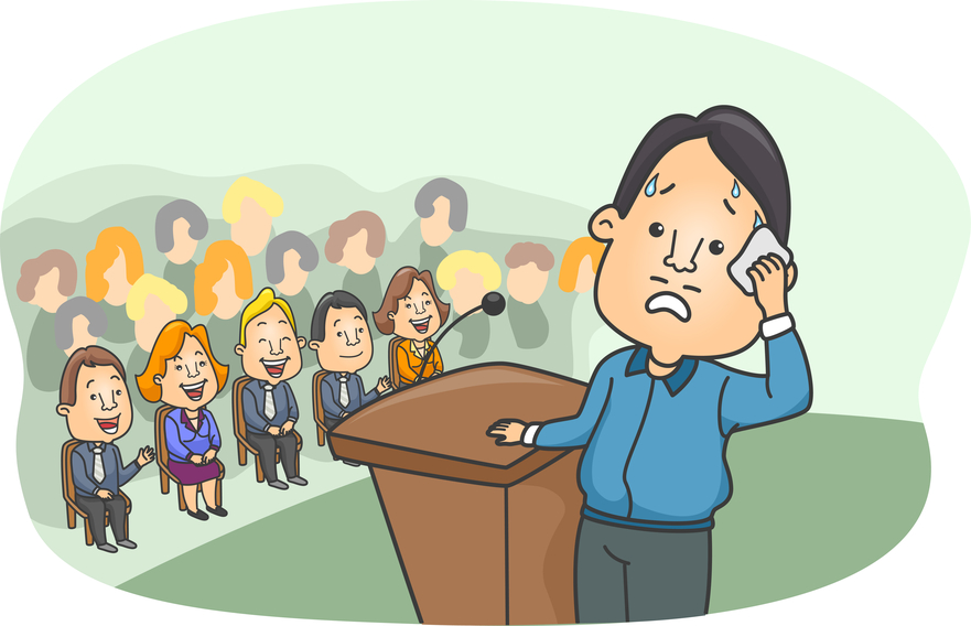 MMem 0033: When I'm speaking, how can I stop forgetting what to say under stress?