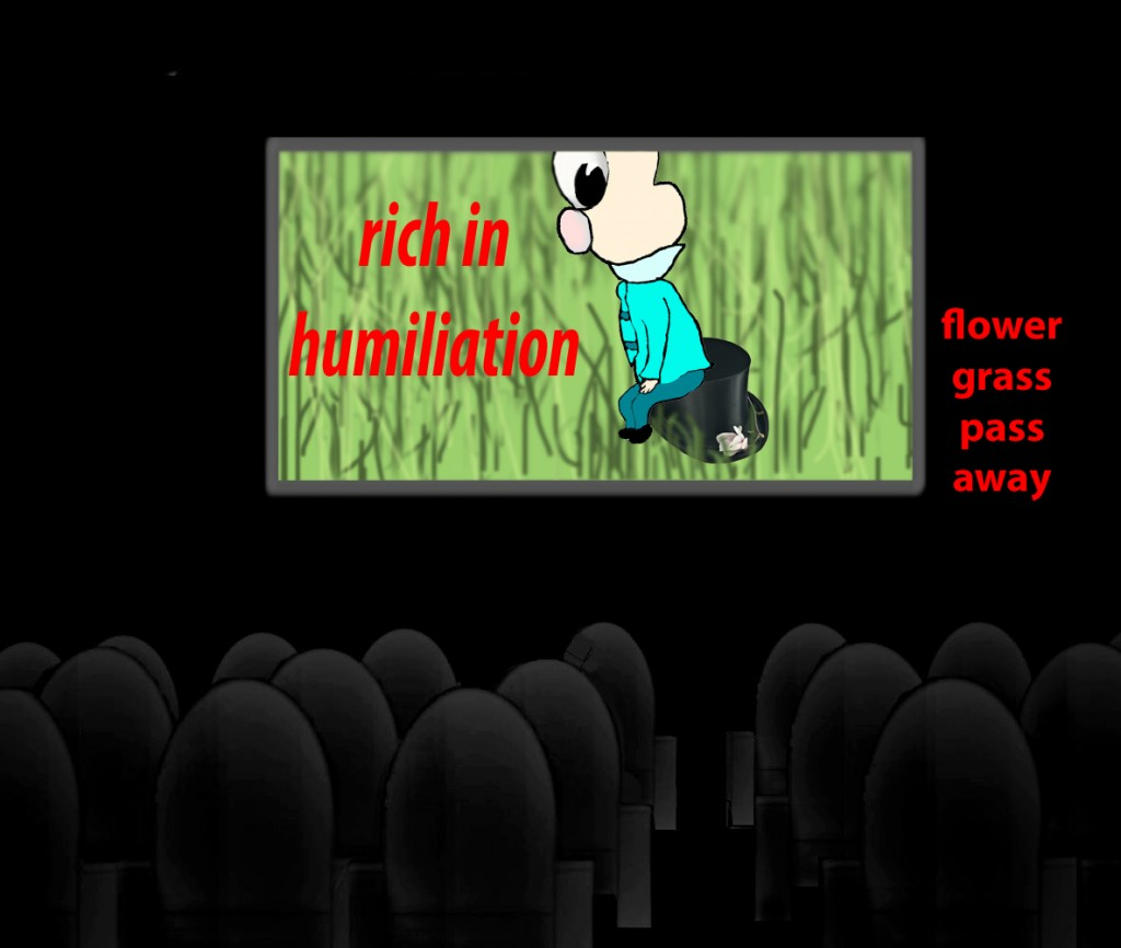 and the rich in his humiliation, because like a flower of the grass he will pass away.