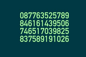 memorize long numbers