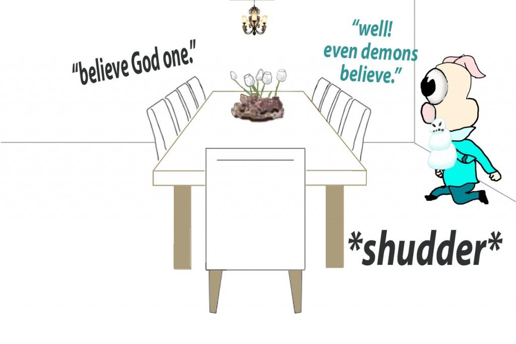 James 2:19 mnemonic