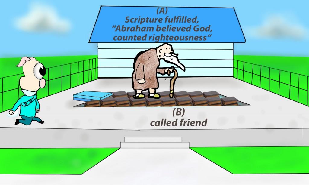 James 2:23 mnemonic