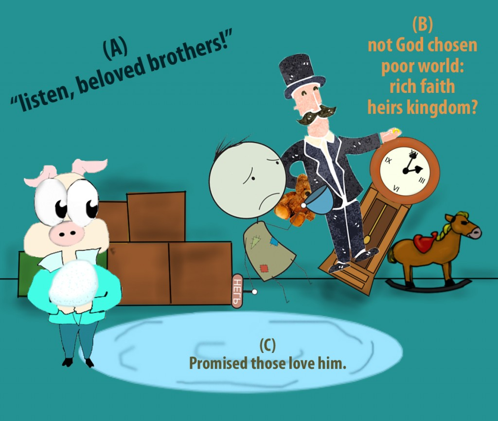 James 2:5 mnemonic
