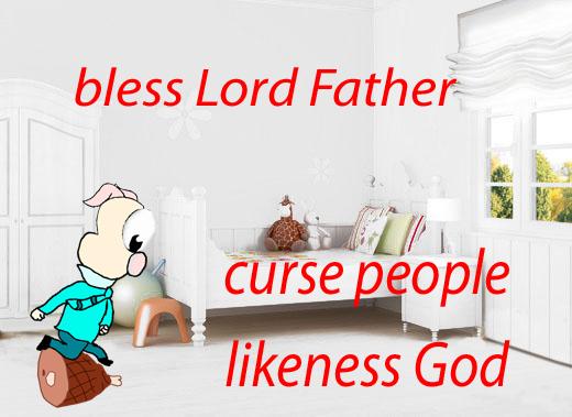 James 3:9 mnemonic
