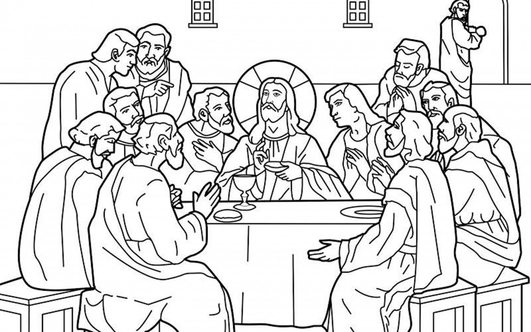 Mmem 0134 memorize the 12 apostles with mnemonics for 12 disciples coloring page