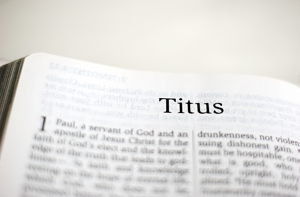 MMem 0449: Memorize the book of Titus: First steps
