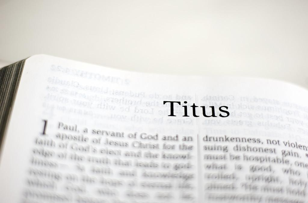 MMem 0449: Memorize the book of Titus: First steps