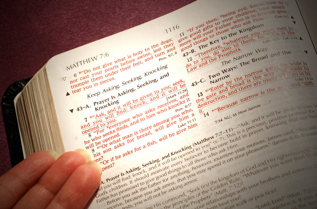 MMem 0493: Using key verses to memorize the topics of Matthew